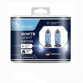 Лампа H11(Clearlight)12V-55W WhiteLight (2 шт.)