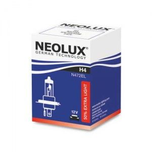 Лампа Neolux Extra Light H4 12V- 60/55W (P43t)